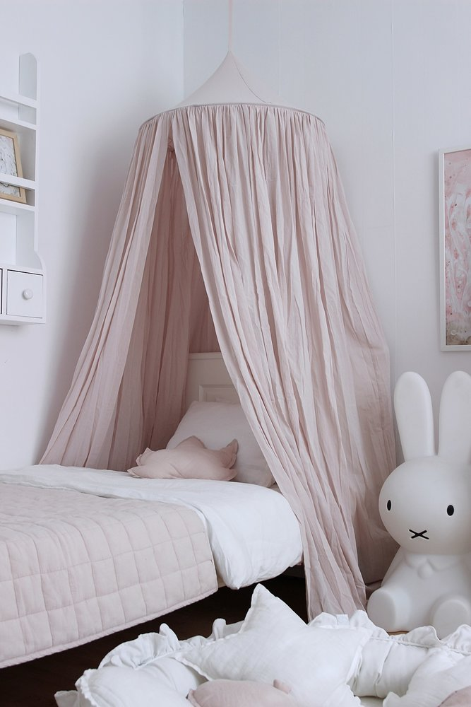 f8526e283fa5 Baldachýny + doplnky   Baldachýn nad manželskú posteľ Soft - Púdrovo ružová