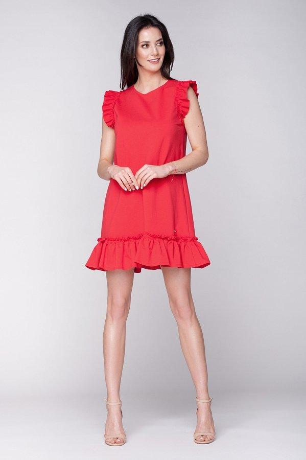403da993b Dámske letné šaty Butterfly - červené | LUMIDE | lovel.sk ...
