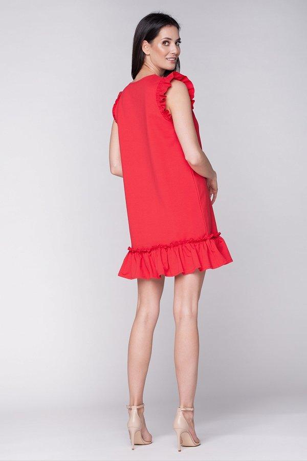 4358056b3dd9 Dámske letné šaty Butterfly - červené