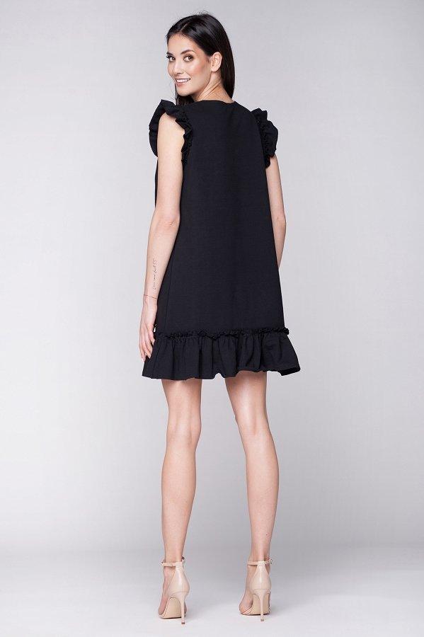 4ca222eb3b13 Dámske letné šaty Butterfly - čierne