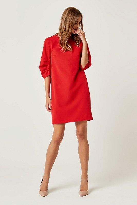 c9b7bf1e1c96e Dámske šaty Laura - Červené | LUMIDE | lovel.sk | Dizajnové a ...