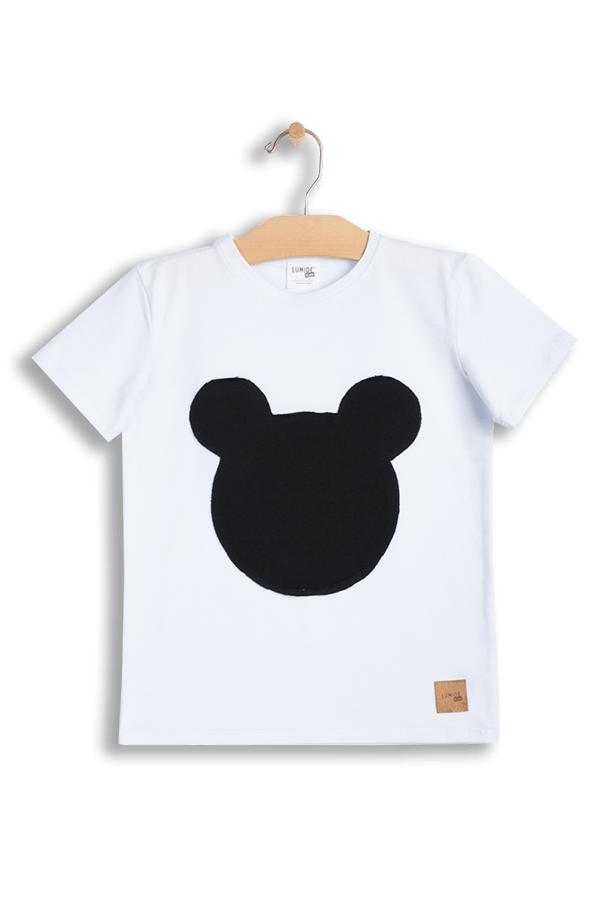 a6f84dc1ff35 Tričká s krátkym rukávom   Detské tričko s krátkym rukávom Mouse - biele  čierne