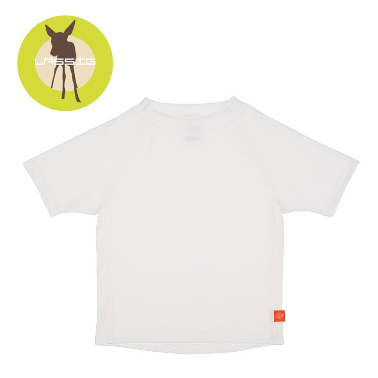 Plavky /  lassig-koszulka-t-shirt-do-plywania-white-uv-50-girl-4-lovel-sk-0