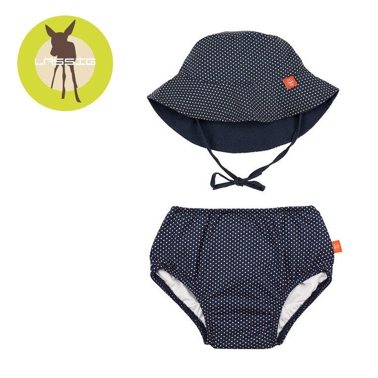66817b1d6 Set plavkové nohavičky, klobúk dots uv 50 | LASSIG | lovel.sk ...