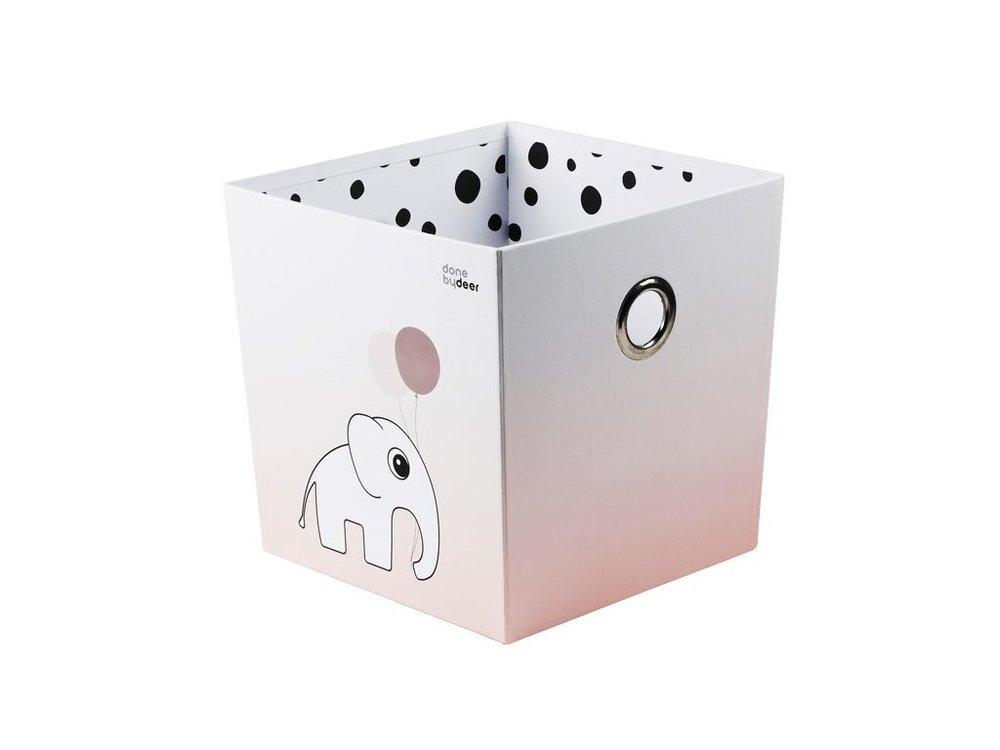 ed594ff88 Úložný box Happy dots - ružový | DONE BY DEER | lovel.sk | Dizajnové ...
