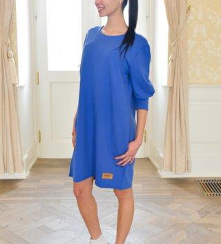 Dámske šaty Oversize Farfalla blue ba4bbdc1b52