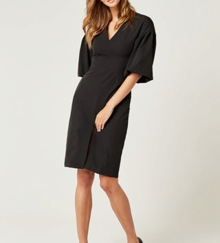 4844fab4e10d Dámske šaty Viola - čierne