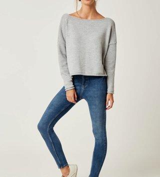4deafc50d4cd Dámsky sveter Lea - Sivý