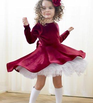 Dievčenské točivé šaty Zamat 90c8506ca25