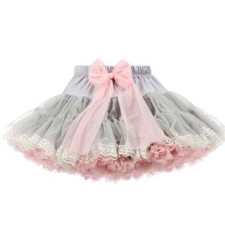 854dc29f7f3f Petti sukňa Dolly Princess - sivá  ružová