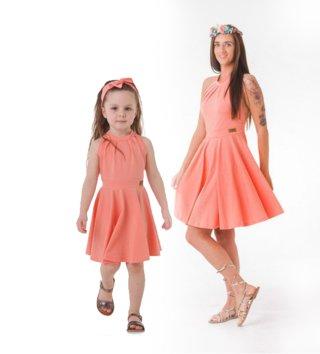 b3b209617e49 Set šaty mama a dcéra - Dahlia